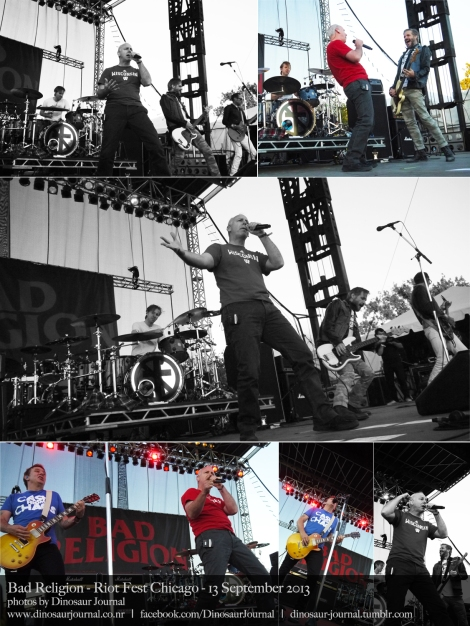 Bad Religion collage