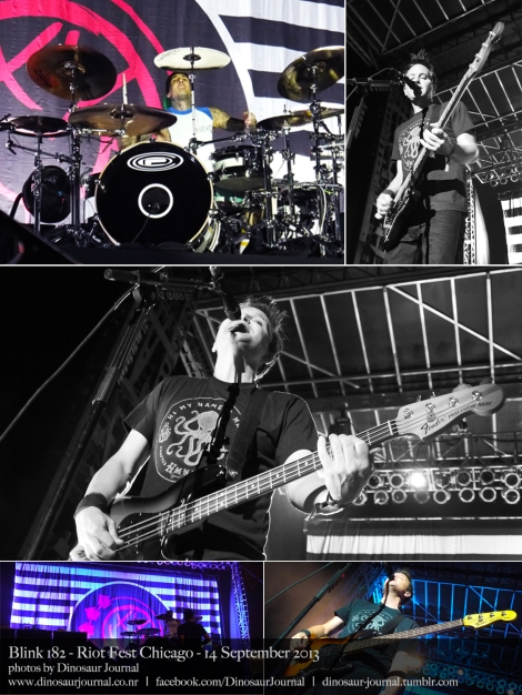 Blink 182 collage