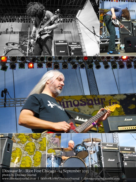Dinosaur Jr collage