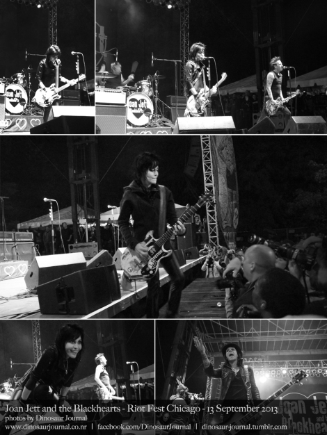 Joan Jett collage