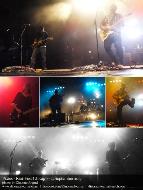 Pixies collage
