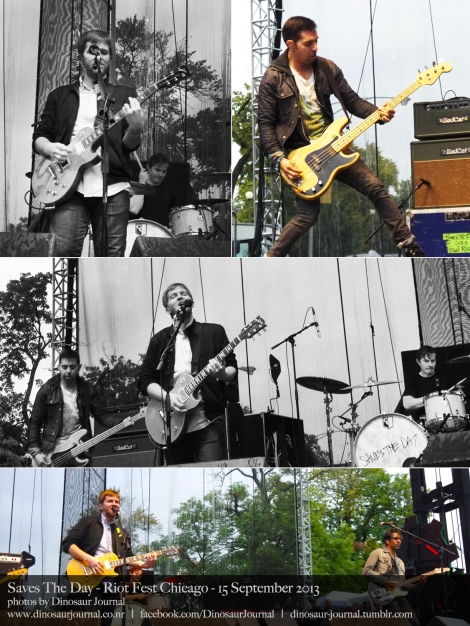 Saves The Day collage